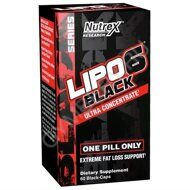 Nutrex Lipo-6 Black Ultra Concentrate 60 капс, шт., арт. 0908003