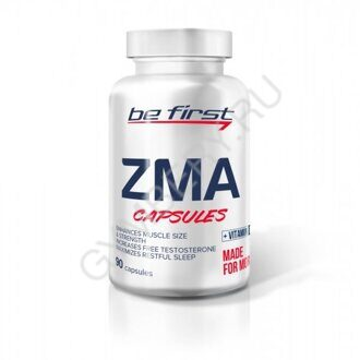Be First ZMA + vitamin D3 90 caps, шт., арт. 2207001