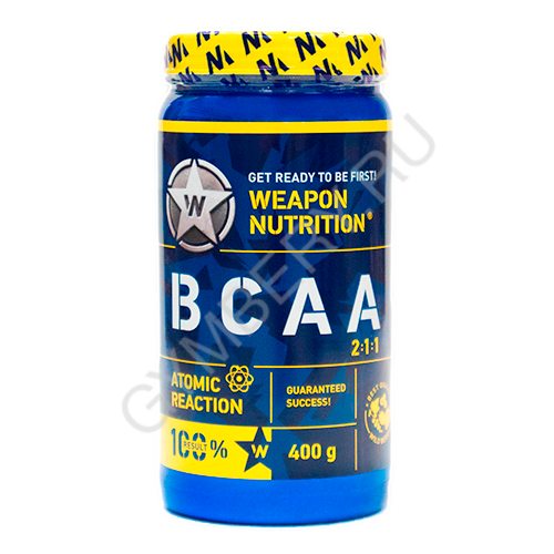 Weapon Nutrition ВСАА, 400г (Апельсин), , шт