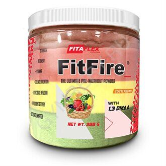 FitaFlex Nutrition Pre-Workout Powder FitFire + DMAA , Тутти-Фрутти, шт., арт. 2511001