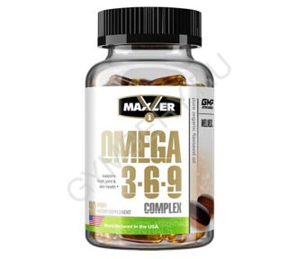 MXL. Omega 3-6-9 Сomplex 90 softgels (USA) 0207010