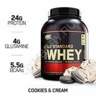 Optimum Nutrition 100 % Whey protein Gold standard 2270 г Cookies and Cream 1001003