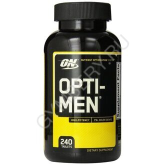Optimum Nutrition Opti Men 240 таб, шт, арт. 1007005
