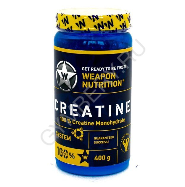 Weapon Nutrition CREATINE System 100% Monohydrate 400g шт., арт. WNC-400