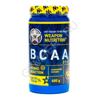 Weapon Nutrition ВСАА, 400г (Киви), , шт