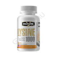 MXL. Lysine 1000 60 tabs NEW DESIGN