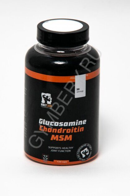 Kultlab Glucosamine, Chondroitin & MSM, 120 капс (Капсулы)