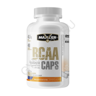 MXL. BCAA CAPS 240 caps NEW DESIGN