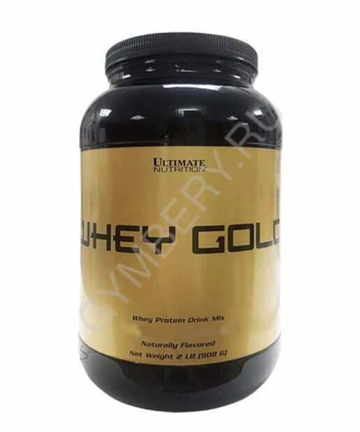 ULT. Whey Gold 2 lbs - Delicious Chocolate 908 g