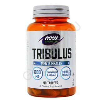 NOW Tribulus 1000 mg 90 таб, шт., арт. 2010001